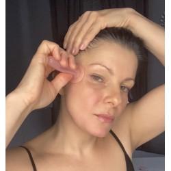 Masaż twarzy bańkami silikonowymi - warsztat online + zestaw 2 baniek do masażu